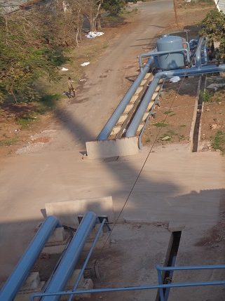 Cooling Tower Pipe Lines