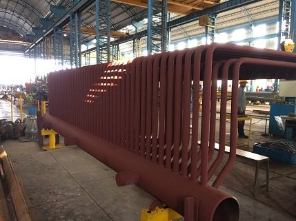 Furnace Wall Header